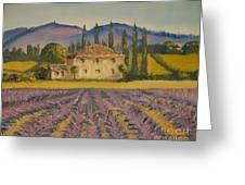 Tuscan Lavender Greeting Card
