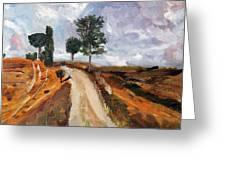 Tuscan Road Greeting Card