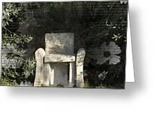 Tuscan Seat Greeting Card