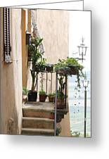 Tuscan Staircase Greeting Card