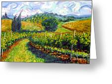 Tuscan Wind Greeting Card by Michael Swanson