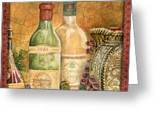 Tuscan Wine-a Greeting Card