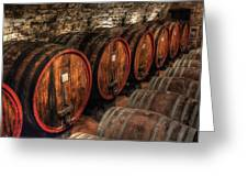 Tuscan Wine Cellar Greeting Card