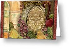 Tuscan Wine-d Greeting Card