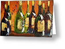 Tuscan Wine Greeting Card