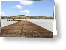 Tuscany - Lago Di Chiusi Greeting Card