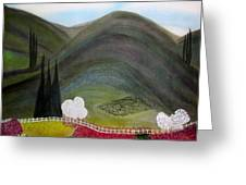 Tuscany Garden Greeting Card