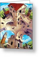 Tuscany I Greeting Card