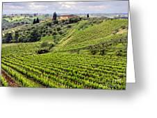 Tuscany-italy Greeting Card
