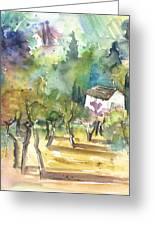 Tuscany Landscape 05 Greeting Card