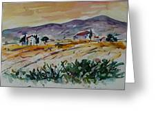 Tuscany Landscape 1 Greeting Card