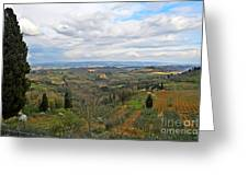 Tuscany Life Greeting Card