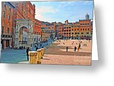 Tuscany Town Center Greeting Card