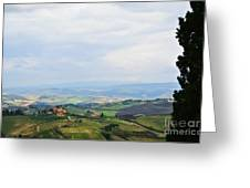 Tuscany's Special Light Greeting Card