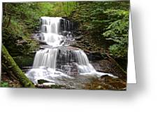 Tuscarora Falls Greeting Card