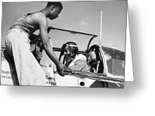 Tuskegee Airmen, C1943 Greeting Card