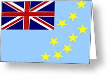 Tuvalu Flag Greeting Card