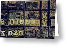 Tv IIi Greeting Card