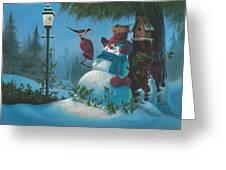 Tweet Dreams Greeting Card by Michael Humphries