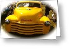 Tweety Bird Chevrolet Pickup Truck Greeting Card