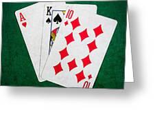 Twenty One 2 - Square Greeting Card