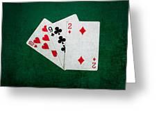 Twenty One 9 Greeting Card
