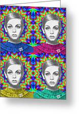 Twiggy Greeting Card