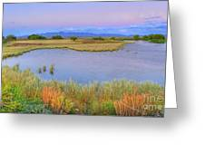 Twilight At Whitewater Draw Greeting Card