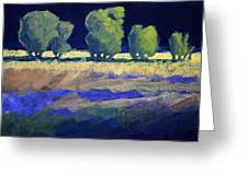 Twilight Landscape Greeting Card