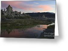 Twilight, Mono Lake, California Greeting Card