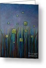 Twilight N Fireflies Greeting Card