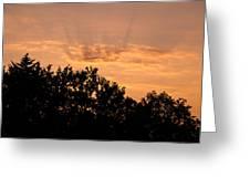 Italian Landscape - Twilight Of The Gods 2 Greeting Card