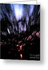 Twilight Tree Travel Greeting Card