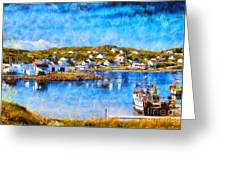 Twillingate In Newfoundland Greeting Card