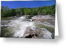 Twin Falls Austin Greeting Card