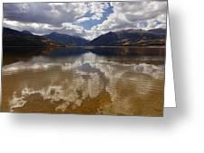 Twin Lake Colorado Greeting Card