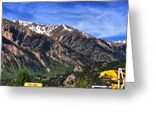 Twin Lakes Colorado Greeting Card