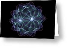 Twin Pulsar Greeting Card