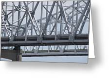 Twin Spans Greeting Card