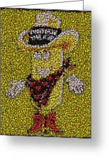 Twinkie The Kid Bottle Cap Mosaic Greeting Card