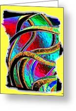 Twist And Shout 3 Greeting Card