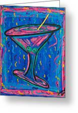Twisted Martini Greeting Card