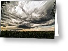 Twisted Sky Greeting Card by Matt Molloy