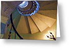 twisted stairs Vizcaya Greeting Card