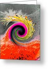Twister Greeting Card