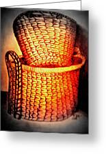 Two Baskets Greeting Card