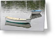 Two Boats 2 Greeting Card