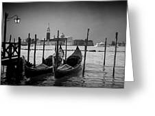 Two Gondolas Greeting Card