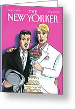 New Yorker June 13th, 1994 Greeting Card