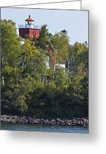 Two Harbors Mn Lighthouse 19 Greeting Card